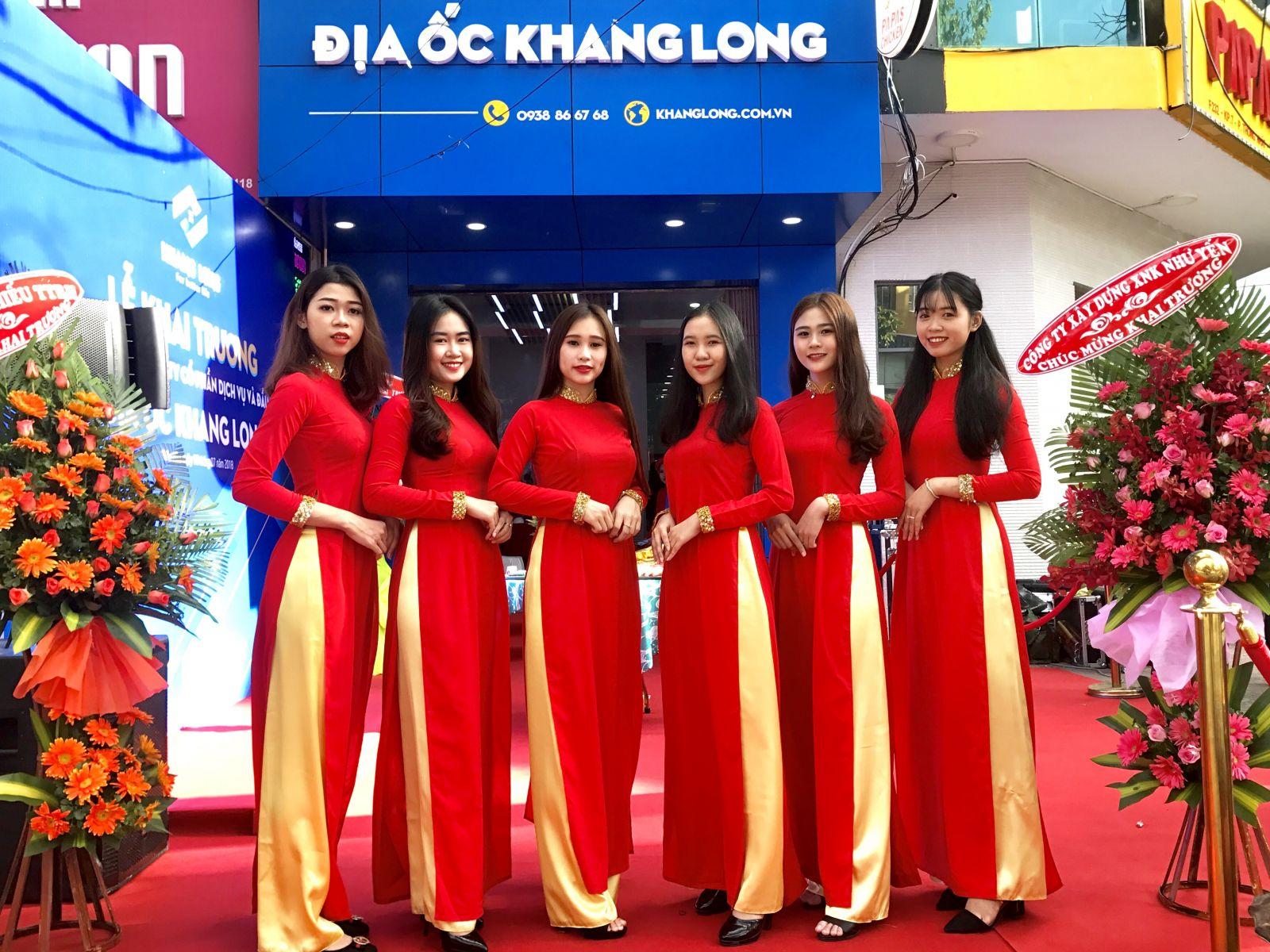 Tổ chức Lễ khai trương chi nhánh công ty Địa ốc Khang Long